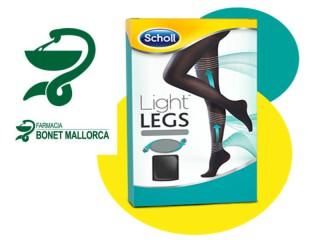 Light Legs de Dr. Scholl, estética y bienestar de la mano.