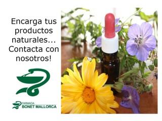 Solicita tus productos naturales en Farmacia Bonet Mallorca.