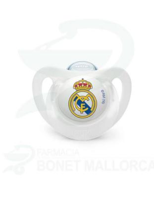 CHUPETE NUK SILIC 0-6M REAL MADRID